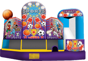 Sports bounce house for rental nashville
