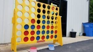 Giant Connect four rentals Nashville