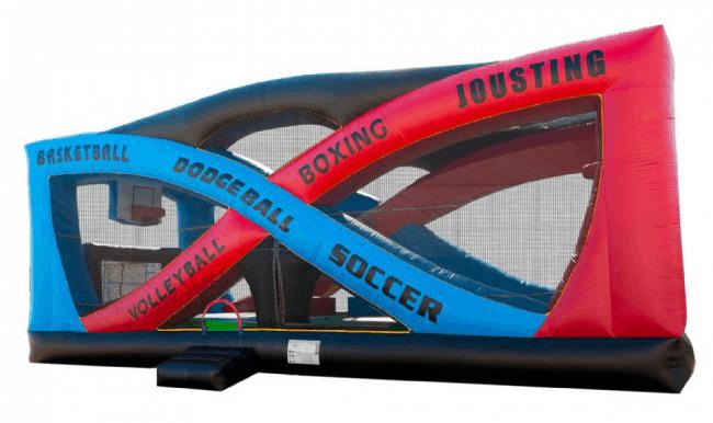 Inflatable Sports Arena Rentals