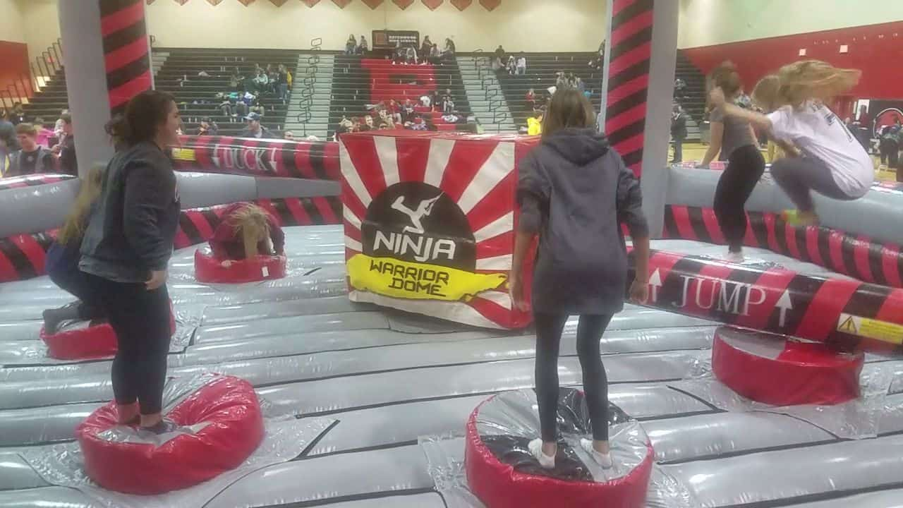 Meltdown inflatable Game