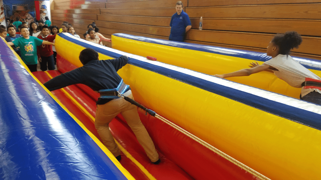 Inflatable Bungee Run Inflatable Game