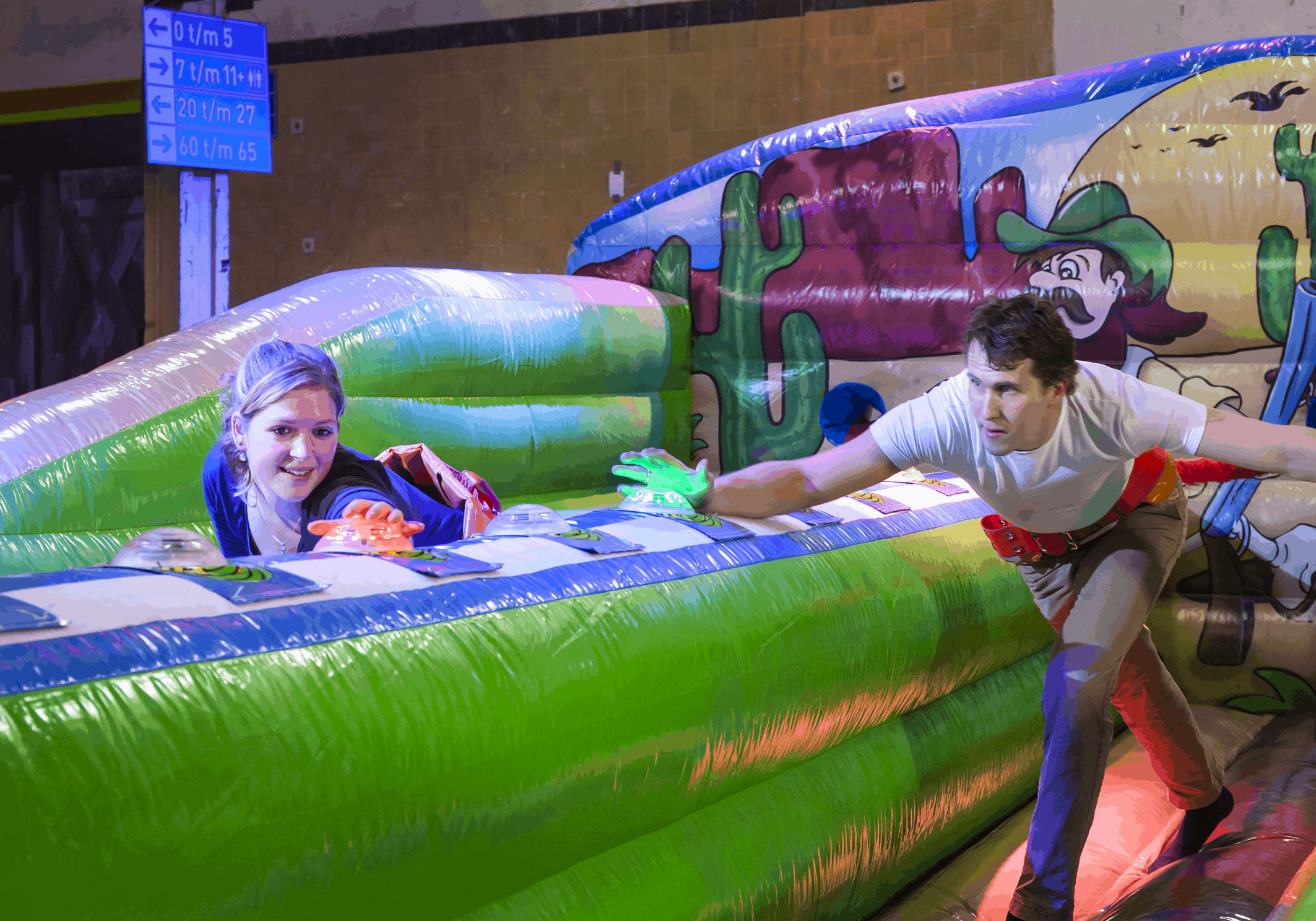 Inflatable Games, Interactive Games