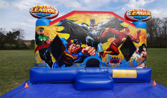 Superhero Bouncy house for Rent
