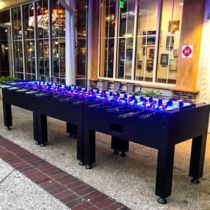 12 Player Foosball Table Rentals