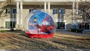 Human Snow Globe Rentals