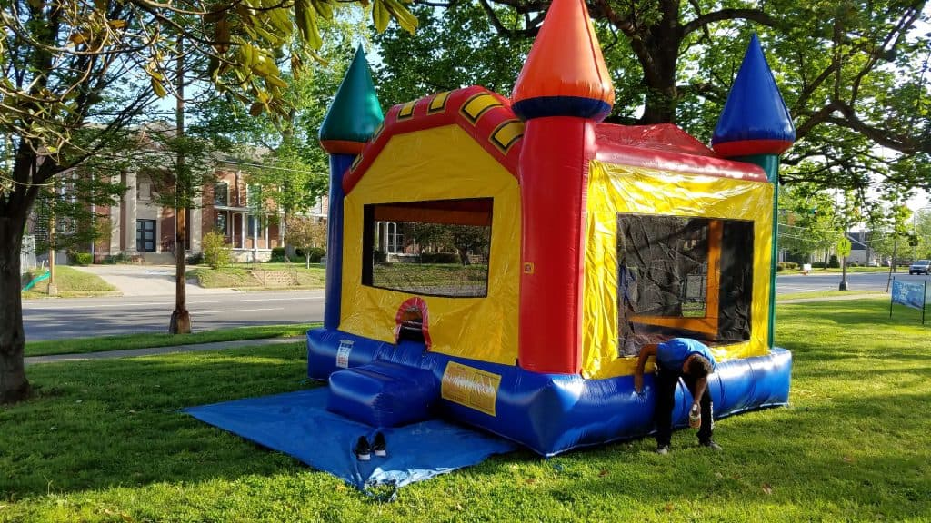 Cleaning Inflatable Bounce Houses