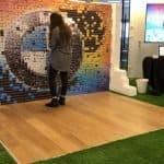 Live Photo Mosaic Wall
