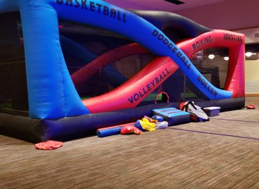 Sport Arena Inflatable Bounce House